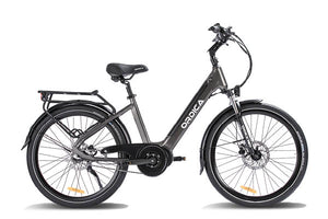 "Ordica Neo Mid 26"" E-Bike, Charcoal 