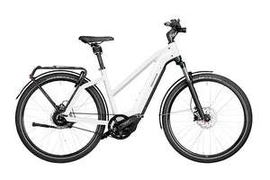Riese & Muller Charger3 Mixte GT Vario ebike Ceramic white | Electric Bikes Brisbane