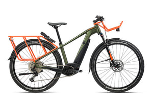 Orbea Keram SUV 20 ebike, green/orange | Electric Bikes Brisbane