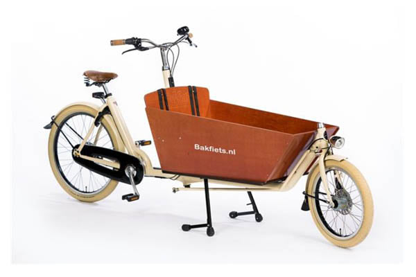 Bakfiets Cruiser cargo ebike Steps | Electric Bikes Brisbane