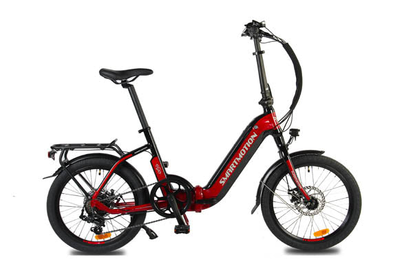 Smartmotion e20 step thru folding ebike | Electric Bikes Brisbane