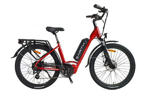 Earth AIR Commuter EBike, Red | Electric Bikes Brisbane
