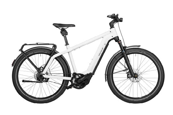 Riese & Muller Charger3 GT Vario ebike Ceramic white | Electric Bikes Brisbane