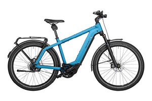 Riese & Muller Charger3 GT Vario ebike Caribbean blue | Electric Bikes Brisbane