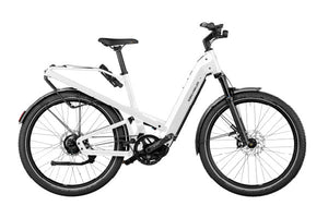 Riese & Muller Homage GT Rohloff ebike , Crystal white| Electric Bikes Brisbane