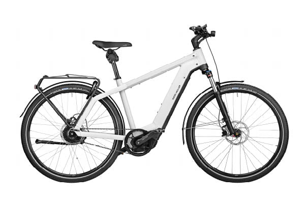 Riese & Muller Charger3 Vario ebike, Ceramic White | Electric Bikes Brisbane