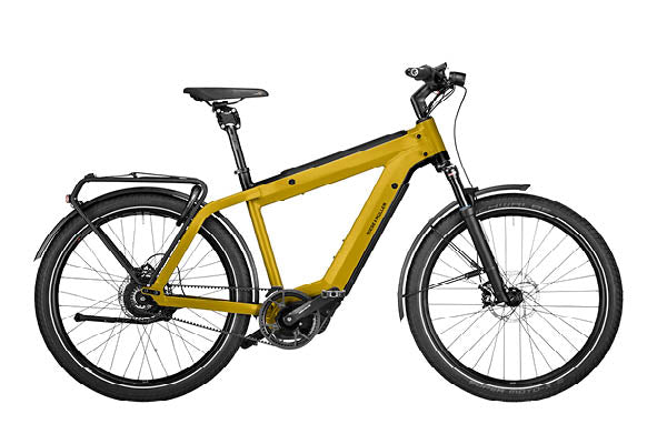 Riese & Muller Supercharger2 GT Vario ebike, Curry matt | Electric Bikes Brisbane
