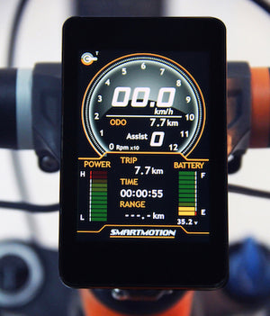 Smartmotion Hypersonic eMTB Display | Electric Bikes Brisbane