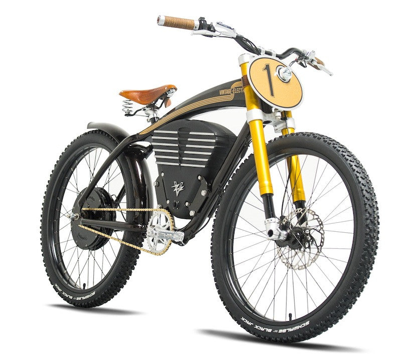 vintage electric scrambler ebike electric bikes brisbane. Black Bedroom Furniture Sets. Home Design Ideas