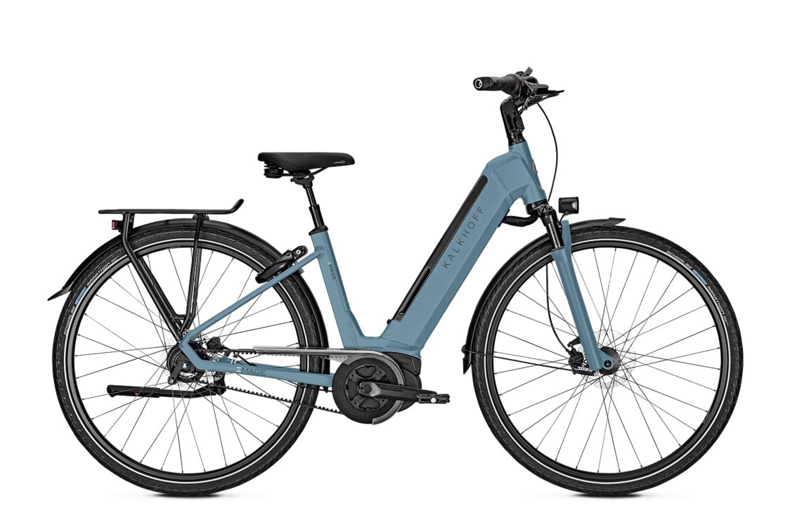 ce86b4282be Kalkhoff Image Advance city ebike with belt drive - Electric Bikes ...