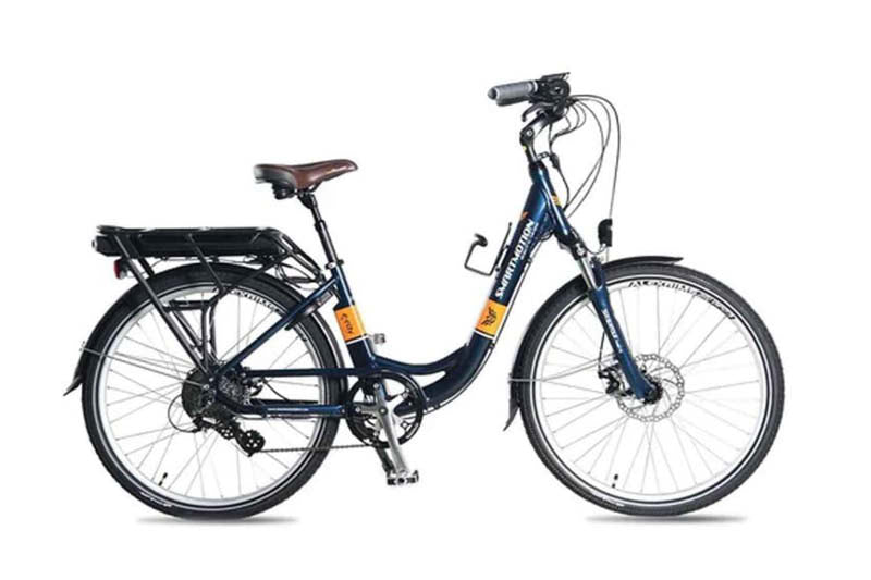 Smartmotion ECity 26 comfort ebike, blue | Electric Bikes Brisbane