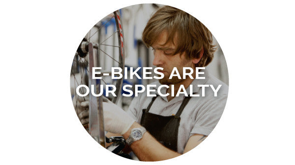 E-bike servicing, repairs and custom projects