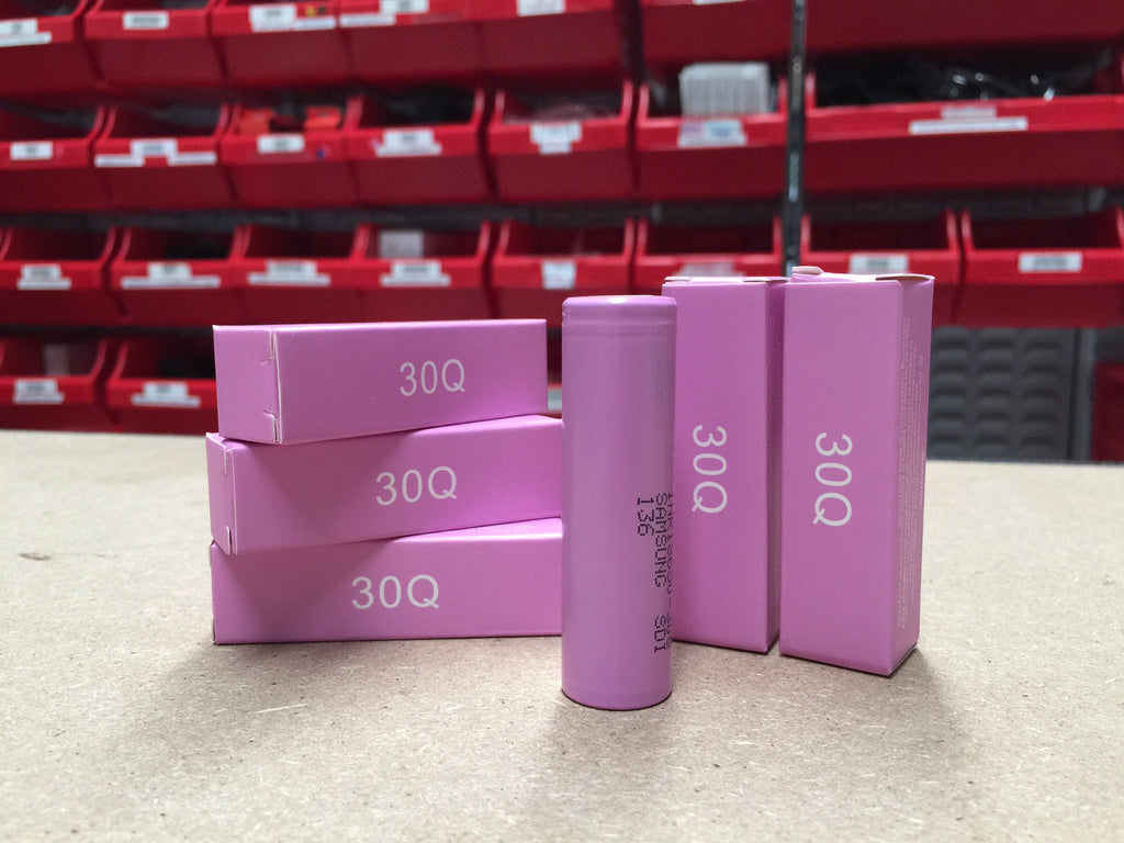 Wick & Wire Co: Samsung 30Q 3000 mah 18650 battery - Vape Shop Melbourne, Australia