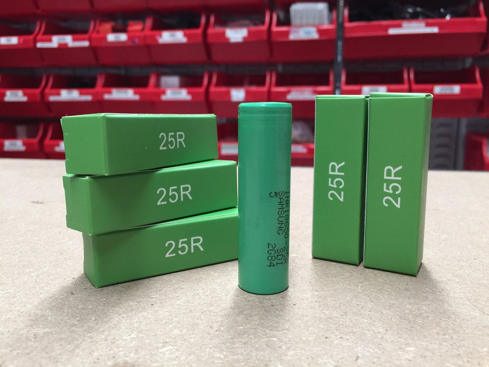 Samsung INR18650-25R 18650 2500mah Rechargeable Battery - Wick And Wire Co Melbourne, Victoria Australia Vape Shop