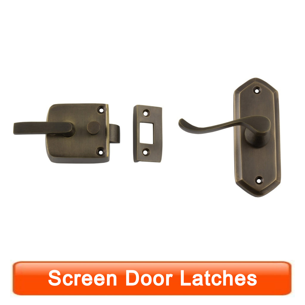 Screen Door Latches