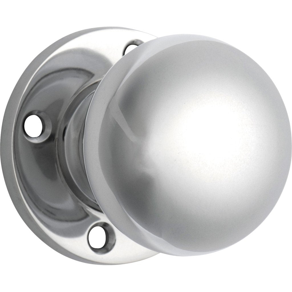 Retro-Fit Knob on Rose (Door Handle Set)