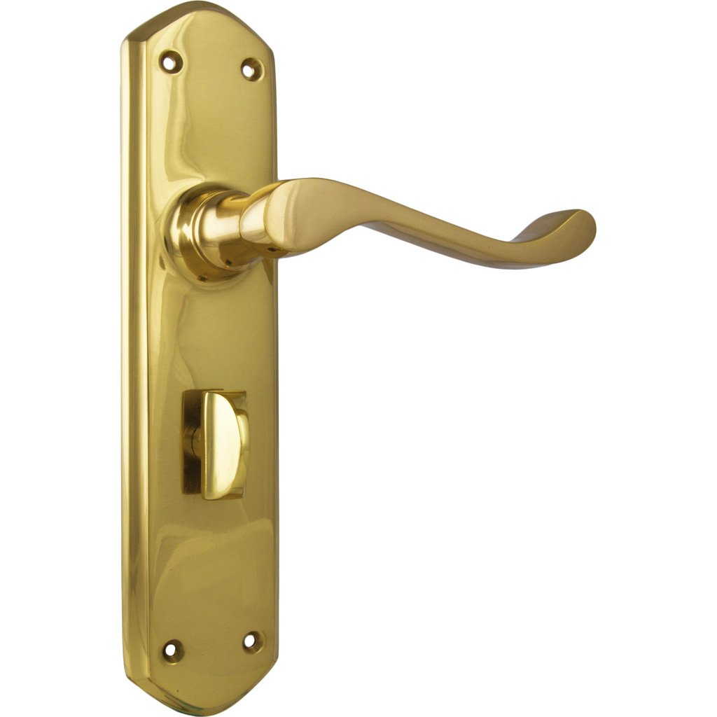 Windsor Lever on Shouldered Plate (Door Handle Set)