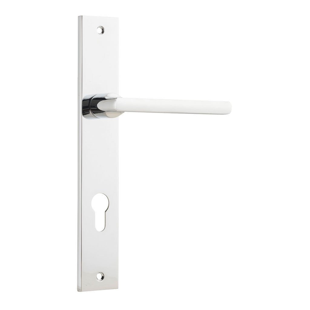 Baltimore Lever on Rectangular Plate (Door Handle Set)