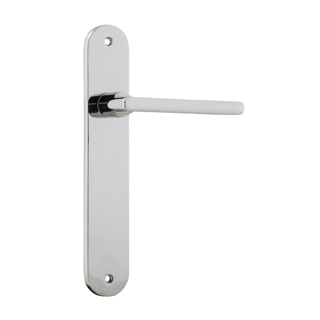 Baltimore Lever on Oval Plate (Door Handle Set)