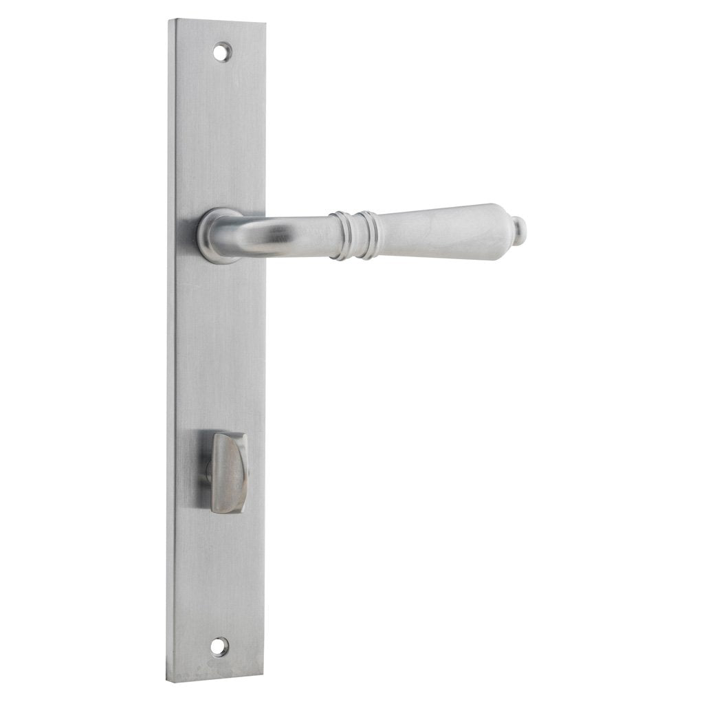 Sarlat Lever on Rectangular Plate (Door Handle Set)