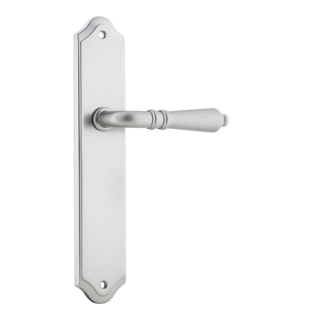 One Single Sarlat Lever on Shouldered Plate (suits Robe/Linen Closet Doors)