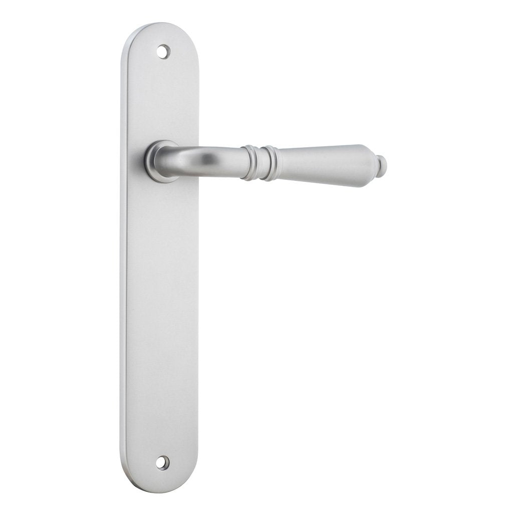 Sarlat Lever on Oval Plate (Door Handle Set)
