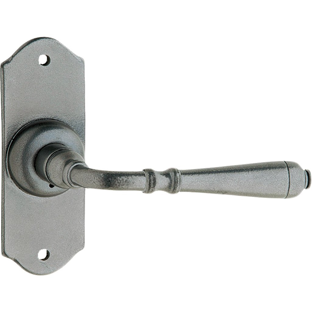 Marseilles Lever on 110mm Shouldered Plate (Door Handle Set)