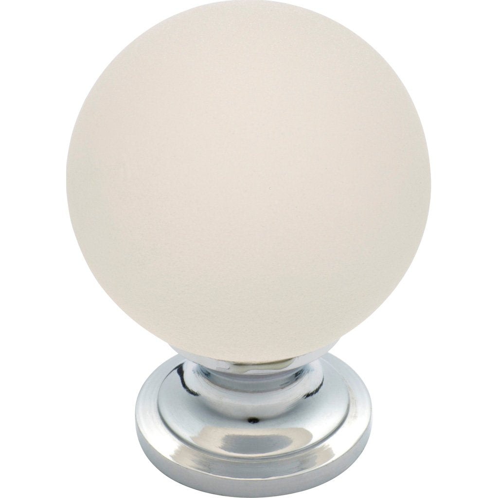 Cupboard Knob Frosted Glass