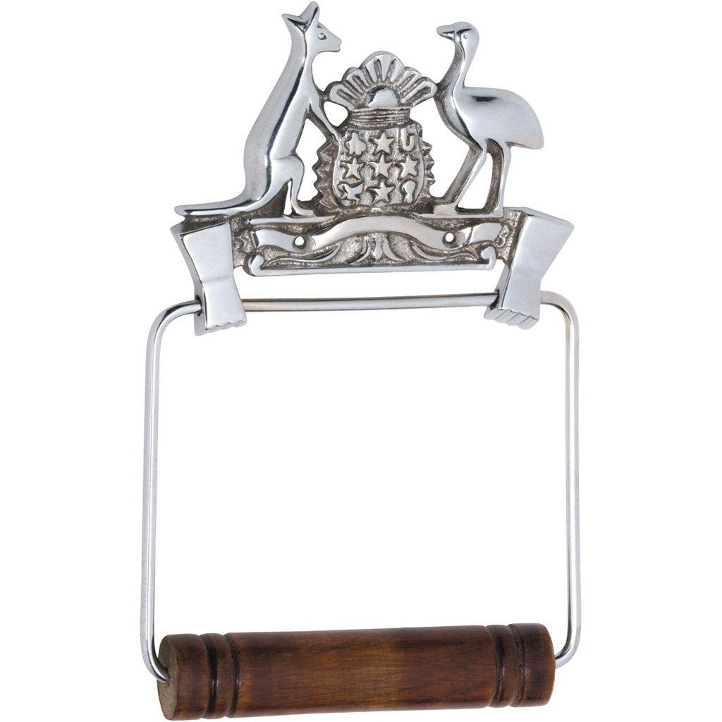 Coat of Arms Toilet Roll Holder
