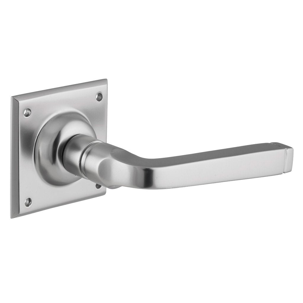 Menton Lever on Square Rose (Door Handle Set)