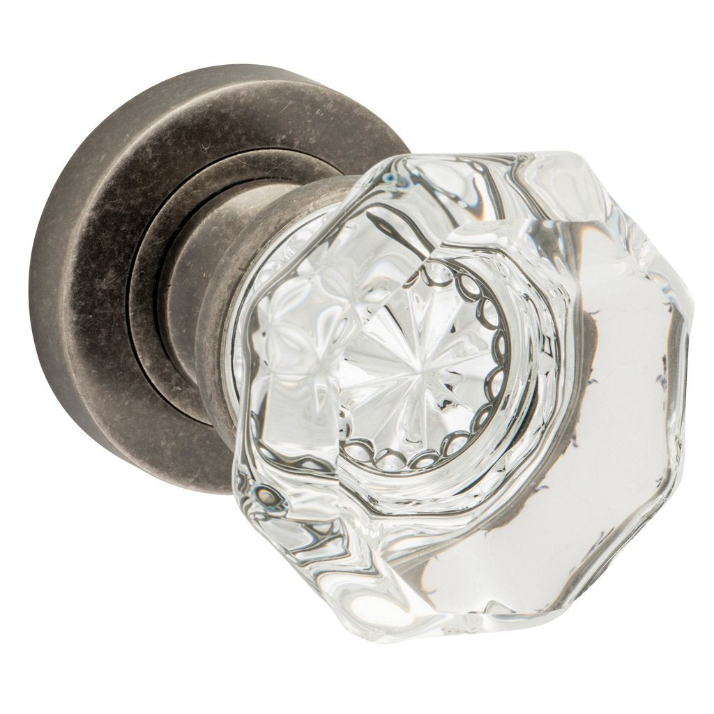Sophia Knob on Rose (Door Handle Set)