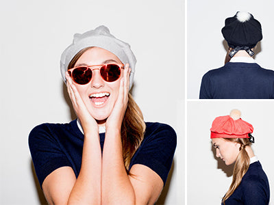 How to Style... a TALLIS Beret