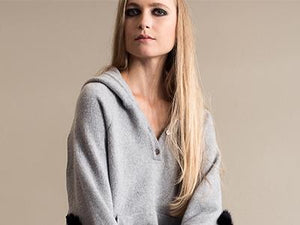 Forever Tallis cashmere hoody