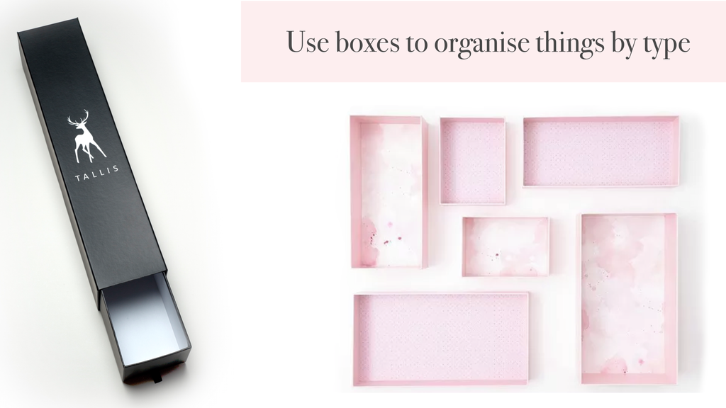 Marie Kondo packaging boxes