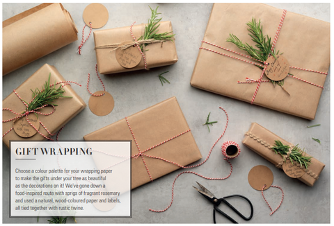 Home-made Gift Wrapping