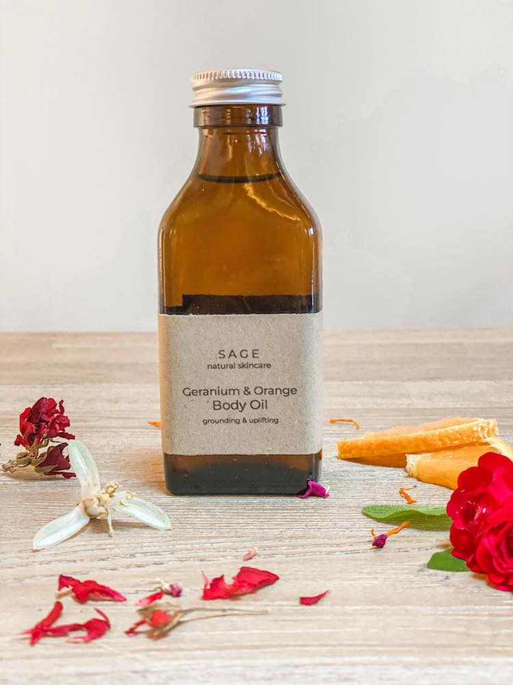 Geranium and Orange Body Oil