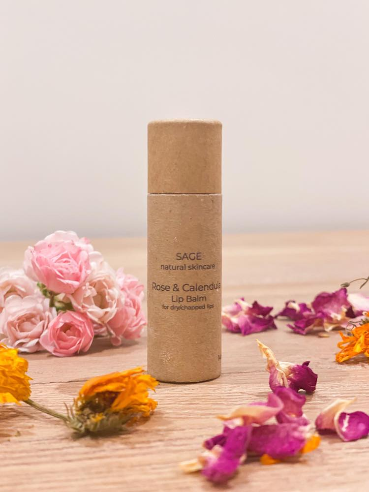 Rose and Calendula Lip Balm