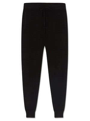 Pure Cashmere Leggings - Black