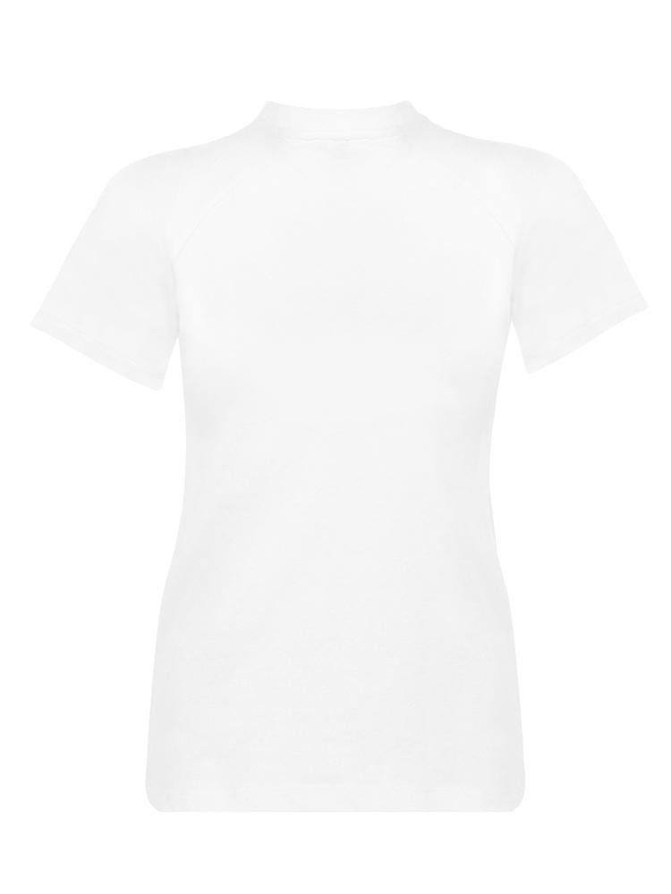 Cotton tee tshirt shirt - White - TALLIS