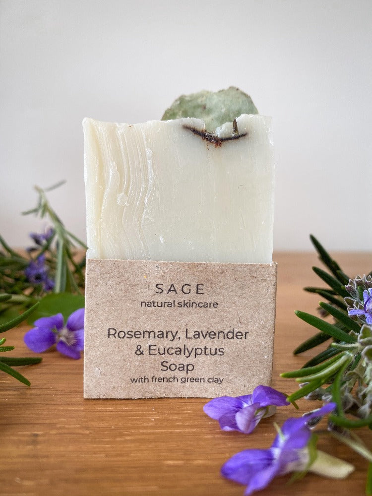 Rosemary, Lavender and Eucalyptus Soap
