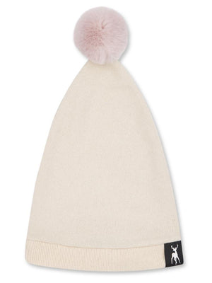 Cashmere Baby Hat - Cream