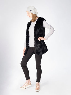 Gilet in Alpine Hare - Black - TALLIS