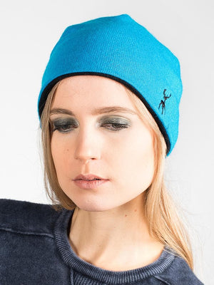 Reversible Beanie in Cashmere - W Limited Edition - TALLIS