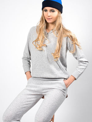 Pure Cashmere Leggings - Grey - TALLIS
