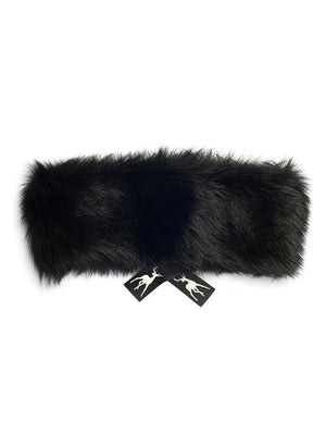 sheepskin headband Meribel Maxi