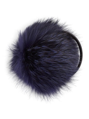Fur Earmuffs - Black