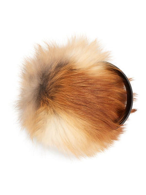 Fur Earmuffs - Natural