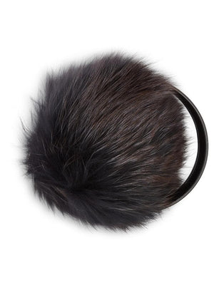 Fur Earmuffs - Navy