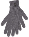 Cashmere Gloves - Charcoal - TALLIS