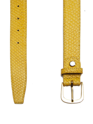 Fish Leather Belt